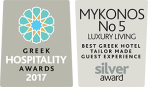 Mykonos No.5, Boutique hotel in Ornosn